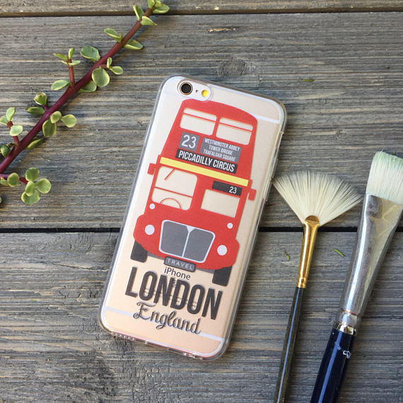 London Bus iPhone Case