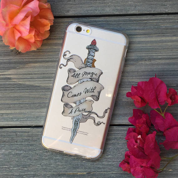 Magic Comes with a Price iPhone Case