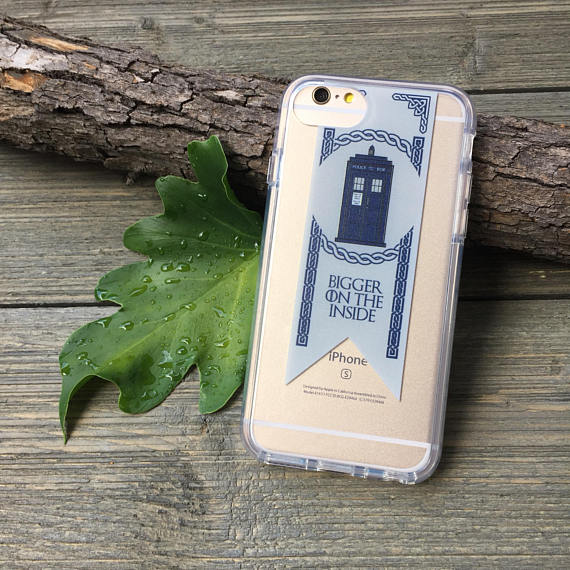 iPhone Case - Tardis Banner