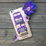 Violently Purple Bus iPhone Case