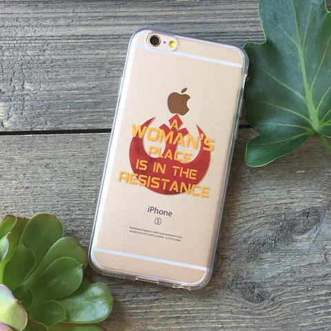 Women in the Resistance iPhone Case