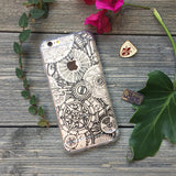 iPhone Mechanical Gears Case (black)