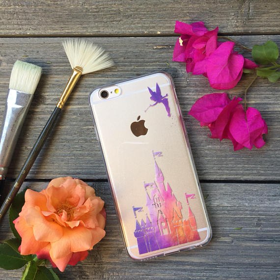 iPhone Sunset Castle Case