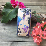 alice falling down the rabbit hole phone case