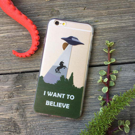 iPhone I Want to Believe Case
