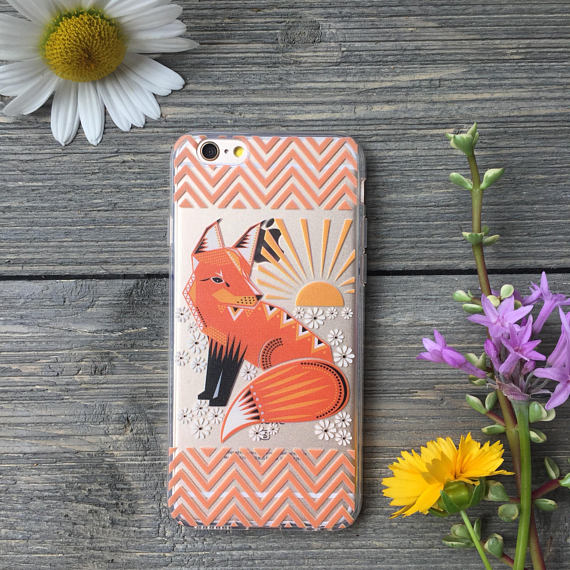 iPhone Chevron Fox Case