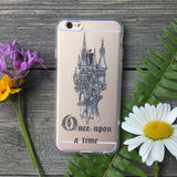 fairy tale castle phone case