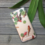 koi fish pond phone case