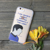 iPhone Spock Too Legit Case