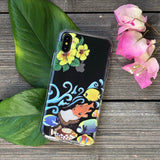 tropical fish phone case