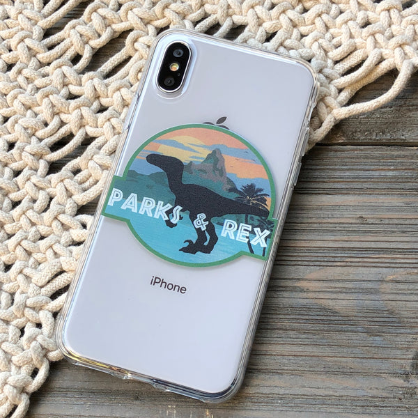 Parks and Rex iPhone Case
