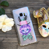 cheshire cat samsung galaxy case we're all mad here