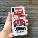 london double decker phone case