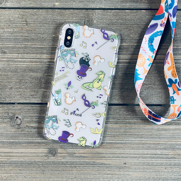 New Orleans Pattern iPhone Case