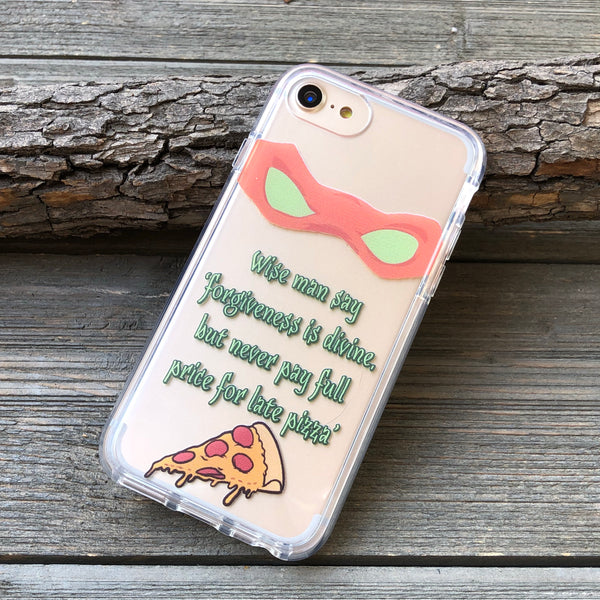 Late Pizza iPhone Case