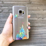 Paint Splatter Fairy Castle Samsung Galaxy Case
