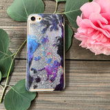 alice in wonderland glitter iphone 6 case