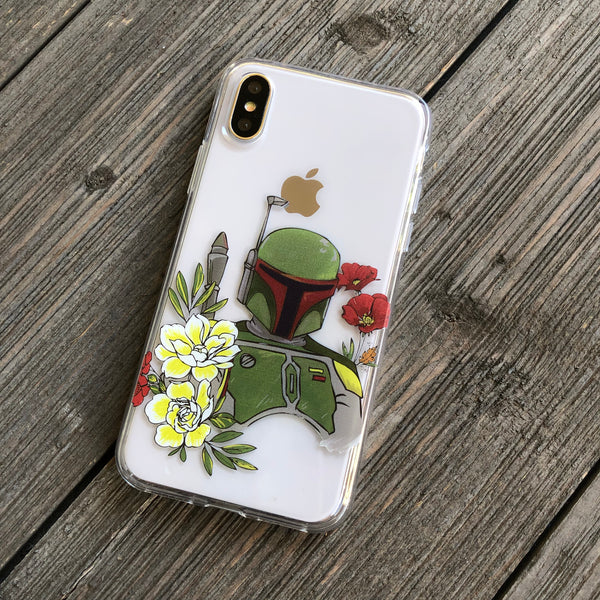 Galactic Bounty Hunter iPhone Case
