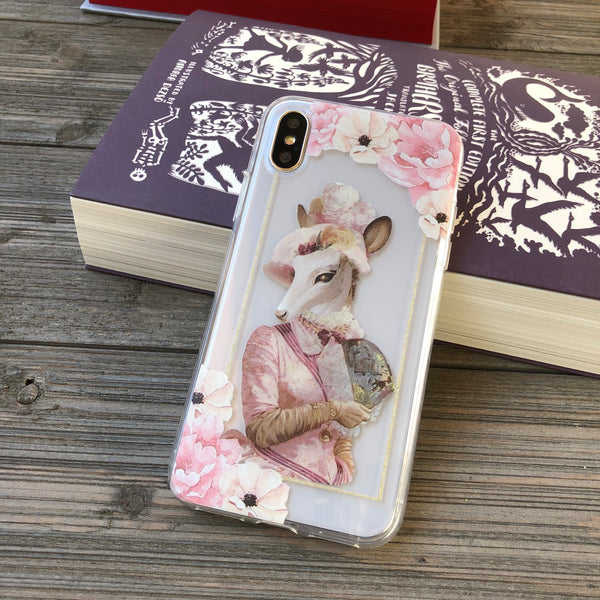 Miss Jane Doe iPhone Case