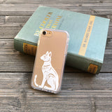 Bast, Egyptian Goddess of Protection iPhone Case