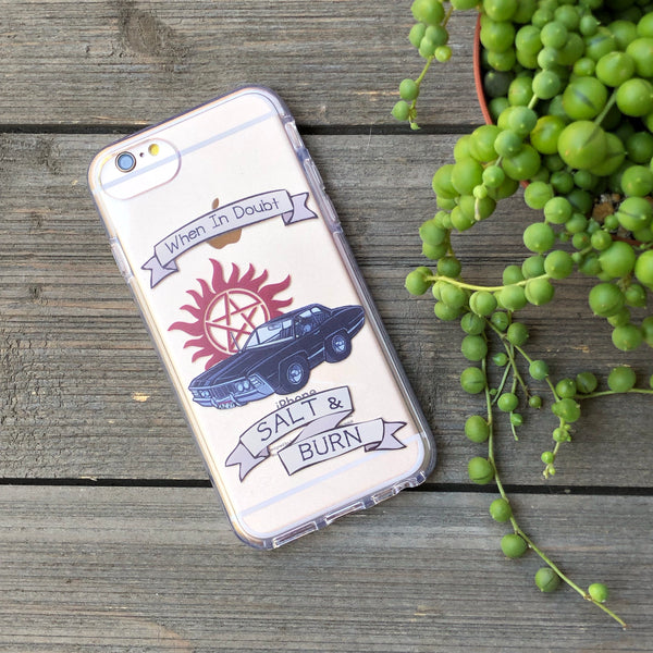 Salt and Burn iPhone Case
