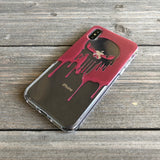 skull outline phone case