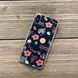 stranger things pattern phone case
