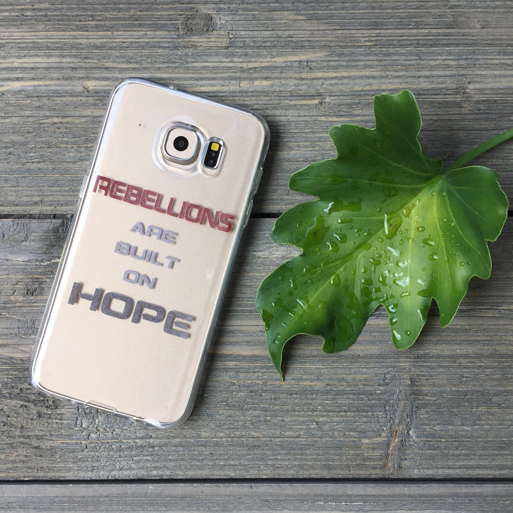 Rebellions Are Built On Hope Samsung Galaxy Case