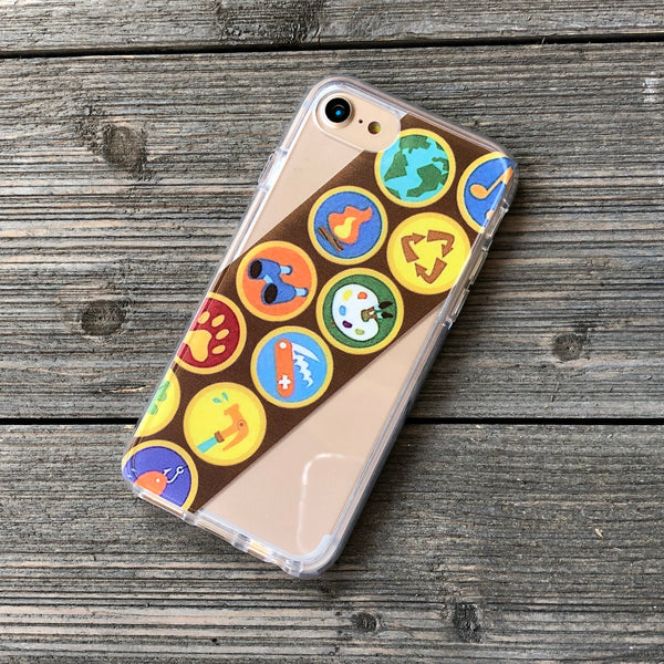 Wilderness Scout Sash iPhone Case