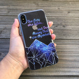 the stars who listen phone case