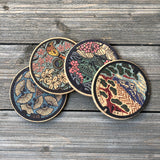 japan manhole cover cork coasters