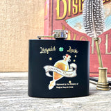 Steel 5oz Flask - Liquid Luck
