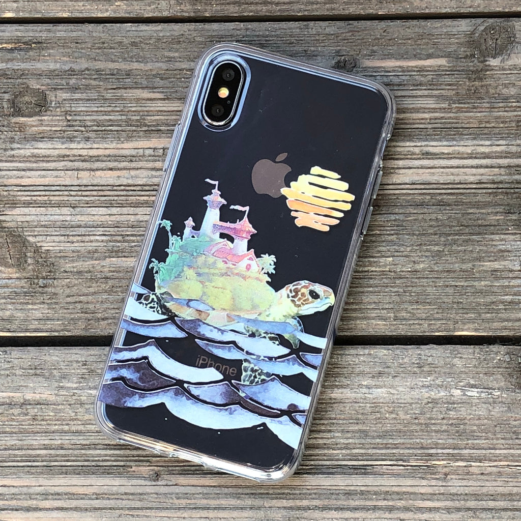 The World Turtle iPhone Case