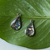 Mermaid Scales Abalone Earrings