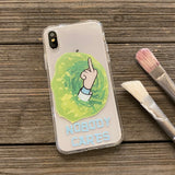 nobody cares middle finger phone case