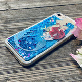blue glitter iphone 8 case mermaid princess