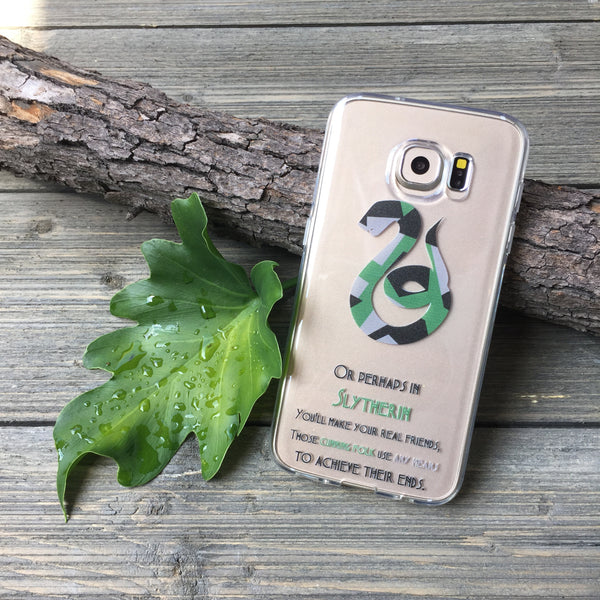 cunning and ambitious snake design samsung phone case