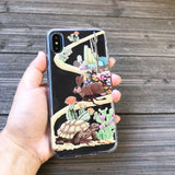 The Hare and the Tortoise iPhone Case