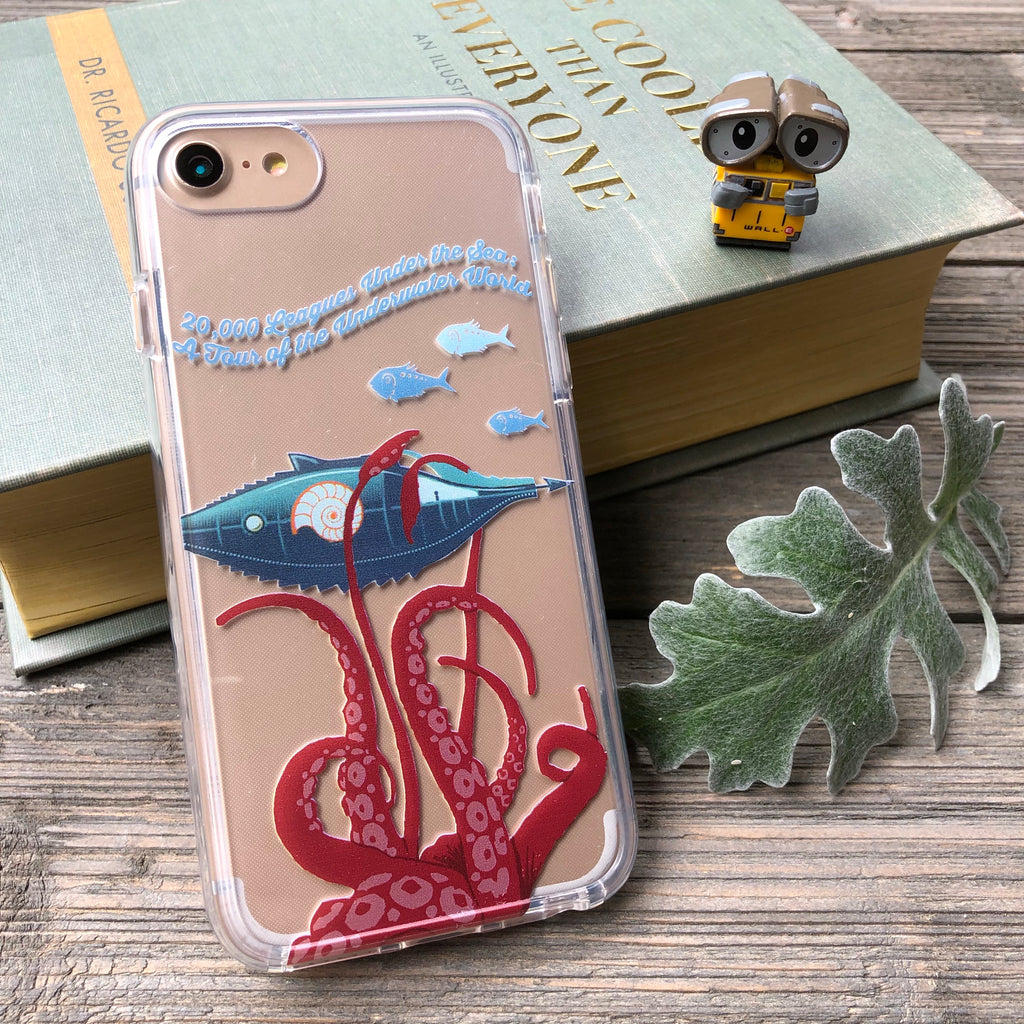 20000 leagues under the sea iphone case