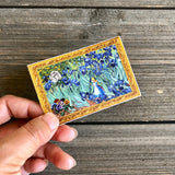 Alice in Van Gogh Land Vinyl Sticker