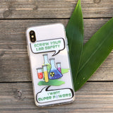 Lab Safety iPhone Case