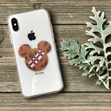wookie mouse ears iphone case