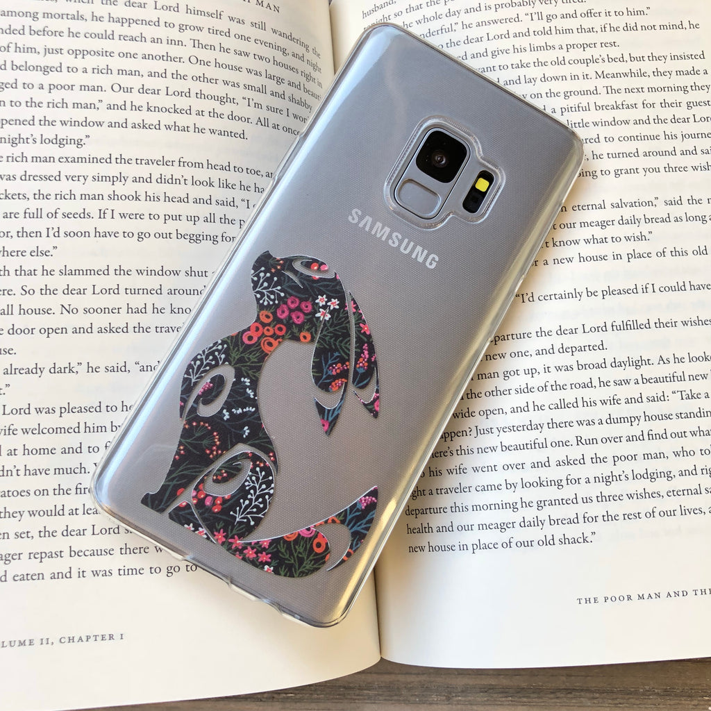 Floral Umbreon Samsung Galaxy Case