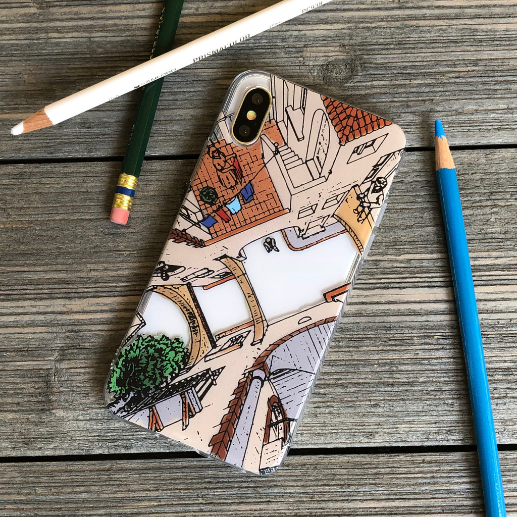 Mixed Perspectives iPhone Case