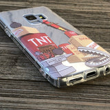 acme cartoon tnt dynamite samsung phone case