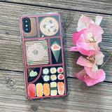 bento box japanese sushi lunch phone case