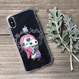 Voodoo Love Dolls iPhone Case