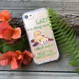 Lazy Red Panda iPhone Case