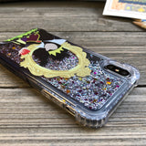 Evil Queen Ombre Glitter iPhone Case