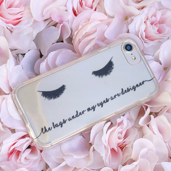 Eye Lashes iPhone Case